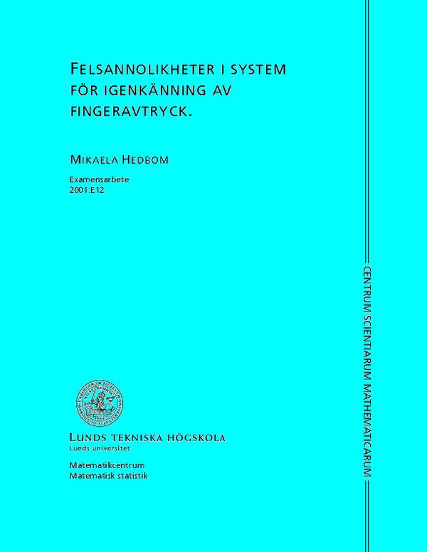 Doctoral Thesis In Computer Science